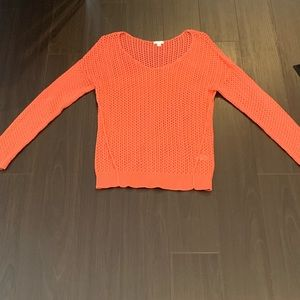 BP coral knit sweater - gently worn, size M